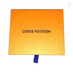 Louis Vuitton Box, duster, and ribbon